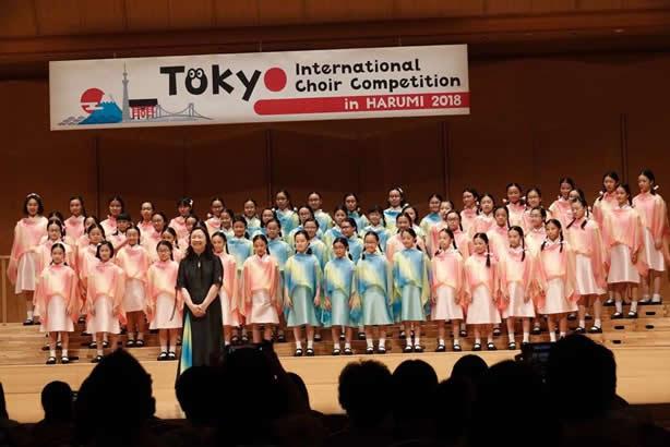 Tokyo International Choir Competition – Diocesan Girls